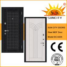 Portas de aço anti-roubo com Locksets turcos (SC-A205)