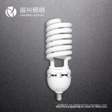 Lámpara de ahorro de energía de media espiral 105W