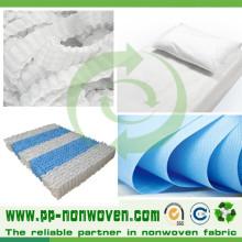 Tissu de couverture de matelas de Spunbond non-tissé de haute qualité