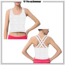 Vêtements de sport personnalisés Femmes Workout Gym Tank Top Vente en gros Fitness Clothing