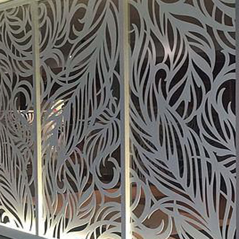Laser Cutting Decoration Stainless Steel Screen