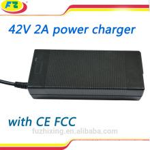 Зарядное устройство 42v 2a для литиевой батареи 36 В для двухколесного самобалансирующегося скутера