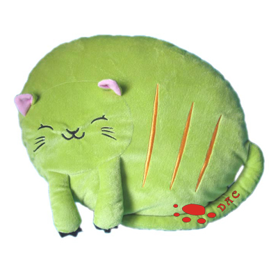cartoon cat cushion