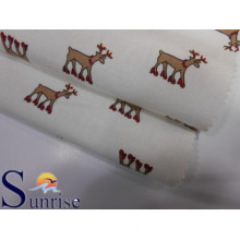 Impreso de algodón tela de franela (SRSC 625)