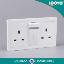 Igoto Double 13A 250V Switched Socket 146 Type