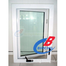 PVC Casement Window - Swing out with Screen