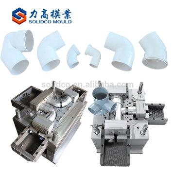 Moulage par injection de pièce maîtresse de tuyau de coude de moulage de tuyau de coude de la vente chaude 90 de moulage de PVC