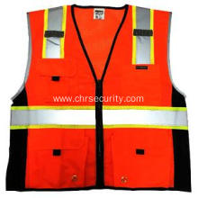 Colour fashionable reflective vest