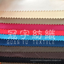 Micro Fiber Polyester Suede Fabric with T/C Back for Decoration