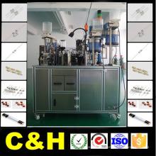 Tubo de vidro de 1.8 Kw / tubo de cerâmica Fusível Autoamtic / soldadura da automatização / máquina do soldador