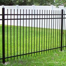 clôture en fer forgé ISO usine