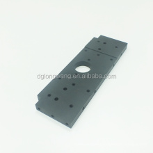 Black Hard Anodized Machinery Replacements Parts OEM High Precision Aluminum Micro Machining Cnc Machining Milling Turning