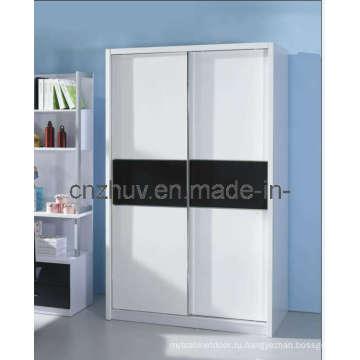 Дизайн шкафа из МДФ из меламина (WR-11002)