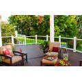 New generation outdoor low maintenance deck railing