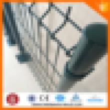 Revestimento de PVC galvanizado segurança cerca de malha de arame para parede de limite