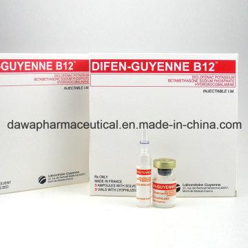 Analgésicos Antipiréticos Difen-Guyenne B12 Diclofenaco Injecção De Potássio