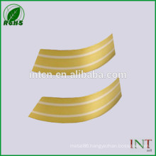 Electrical material Silver inlay brass strips