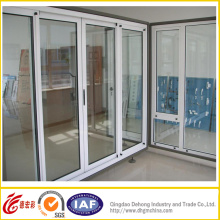 Heat Insulation PVC Door with Double Glass