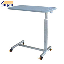 Hospital bed dining table made of MDF