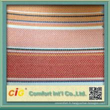 tissu pour les chaises porte la preuve tissu solide preuve de l'eau et de la stabilité de la couleur de l'eau
