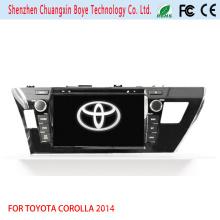 Reproductor de DVD de coche con navegación GPS Fortoyota Corolla 2014 (RHD)