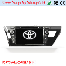 Car DVD Player with GPS Navigation Fortoyota Corolla 2014 (RHD)