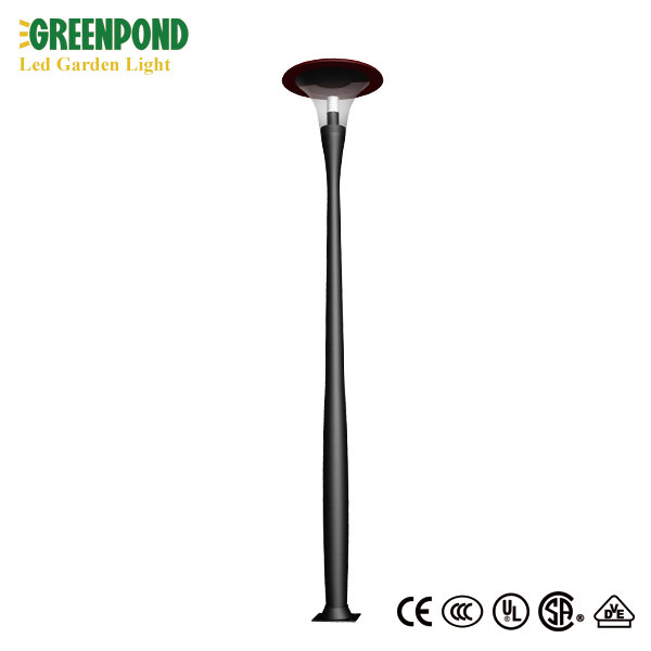CE ROHS FCC Certificated LED Garden Light