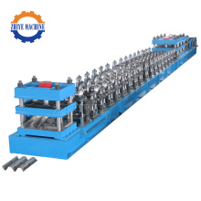 Automatic Highway Guardrail Mesin Roll Forming Dingin