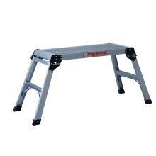 Escalera de plataforma de aluminio / escalera de lavado / banco plegable
