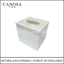 Hot Sale River Shell Square Tissue Box