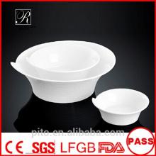 P&T porcelain factory round bowls, ceramics bowls, restaurant use