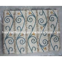 Граница мозаики из мраморного камня (STP92)