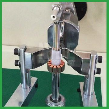 Small motor external armature flyer coil winding machine