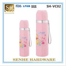 300ml Double Wall Stainless Steel Vacuum Flask, Vacuum Bullet Flask, Thermal Flask, Hanging Strip Vacuum Flask