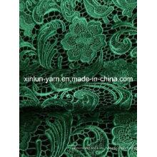 Tela del cordón del paño de tabla para el vestido / el mantel de la boda