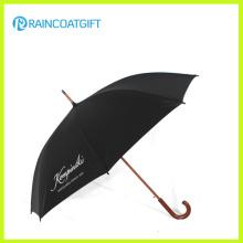 Straight Advertisement Automatischer offener Regenschirm