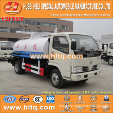 DONGFENG 4x2 LHD/RHD 4000L fecal tank suction truck 95hp cheap price