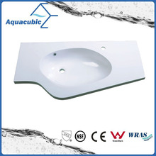 Good Quality Single Bowl Polymarble Vanity Top Acb1050