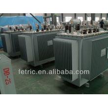 Three phase oil immersed 60HZ low loss copper winding 13.8kv/4.16kv wye-delta power transformer
