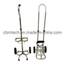 Hospital Transport Carts Gas Cylinders Transport Carts Oxygen Cylinder Carts