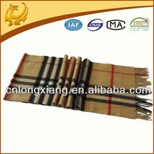 Wholesale 2015 Fashionable Wool Plaid Scarf