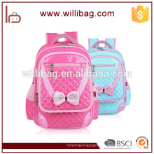 Escola impermeável bonita do bloco da trouxa do saco de escola das crianças preliminares para meninas