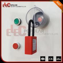 Los productos más vendidos 2016 alta transparente ABS interruptor de emergencia de plástico Botón de bloqueo de seguridad