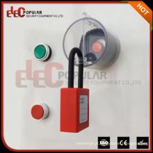 Produtos mais vendidos 2016 Alto Transparente ABS Interruptor de Emergência de Plástico Botão de Segurança Bloqueio de Segurança