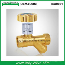 Válvula de filtro en Y bloqueable de latón con mayor venta (AV10065)