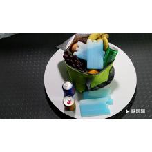 Un sachet de glace réfrigérant réutilisable de 280 ml