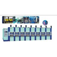 Máquina de moldagem secundária de espuma EVA com aprovação CE