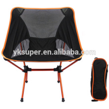 Cadeira de camping dobrável de metal de alta qualidade