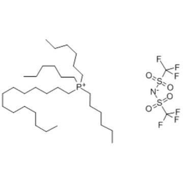 TRIHEXYL(TETRADECYL)PHOSPHONIUM BIS(TRIFLUOROMETHYLSULFONYL)IMIDE CAS 460092-03-9