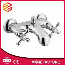 sanitary ware dual handle freestanding bathtub faucet shower and bathtub mixer
